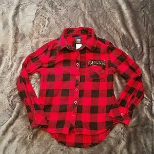 Other - Girls Flannel shirt size 6x/7